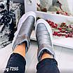 Зимові срібні кросівки  36 розмір, фото 9