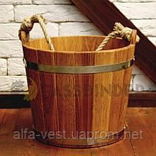 Відро для лазні Fassbinder™ дубове, 12 літрів