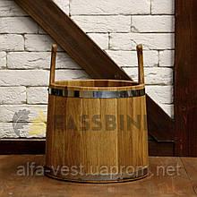 Відро для лазні Fassbinder™ дубовий, 12 літрів