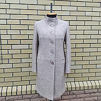 Весеннее пальто женское под пояс размеры 54,56,58