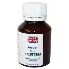 Биогель для педикюра с алоэ вера 60 мл - средство для кислотного педикюра