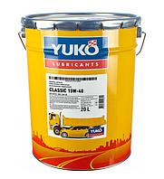 Масло моторне Юкойл TURBO DIESEL 15W-40 (20 л.) мінеральне YUKOIL
