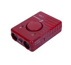 Ультразвуковий відлякувач собак з ліхтариком J-1003 червоний, ультразвуковий прилад для відлякування собак