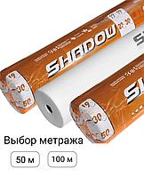 Агроволокно белое 23 г/м² Shadow Чехия 4% шириной 6.4м для теплиц парников грунта (Агроволокно біле в рулонах)