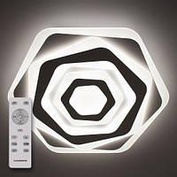 Стельовий світильник світлодіодний з пультом ДУ LUMINARIA GEOMETRIA SOTA 80W ST500 WHITE 220V IP44