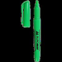 ^Текстмаркер зеленый JOBMAX 24 мм водная основа круглый