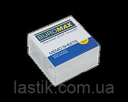 /Блок белой бумаги для записей 90х90х50 мм не склеенный