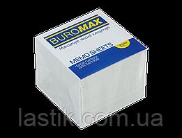 /Блок белой бумаги для записей JOBMAX 90х90х70 мм не склеенный