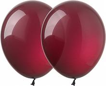 """Латексні кульки бордовий декоратор (burgundy) 12"""" (30 см) Kalisan"""