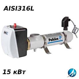 Электронагреватель NEW Pahlen (корпус из н/ж) 15 кВт