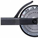 Трюковый Самокат Maraton Wall Ride Серебряные колеса, Peg, колеса 120 мм, Hic, фото 4