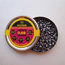 Кулі 4,5 мм Winner 0,68 г гострі. (300 шт.) 13316