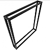 Опоры для столов в стиле Лофт 75 х 70 см, ОП-20