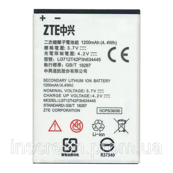 АКБ (Аккумулятор) ZTE Blade L110, LI3712T42P3h634445 1200mAh, фото 2