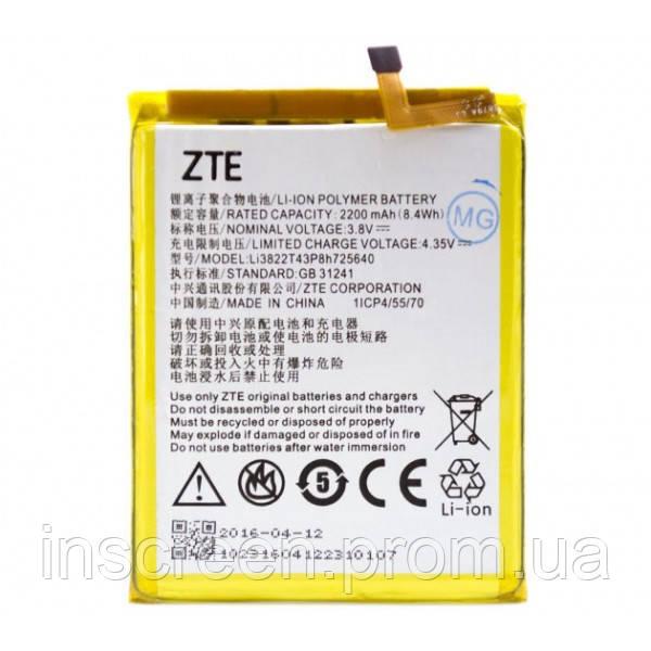 Акумулятор ZTE Li3822T43P8h725640, Li3822T43P3H725638 для ZTE Blade A510 2200 mAh