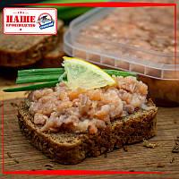 Закуска из филе лосося в масле 300 г