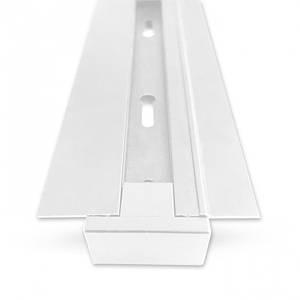 Шинопровід вбудовуваний Feron CAB1004 2м білий