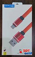 USB кабель Konfulon micro USB (S76)- черный (779408)