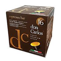 """Кофе в капсулах Carraro Don Carlos """"Espresso Bar"""" 16 шт."""