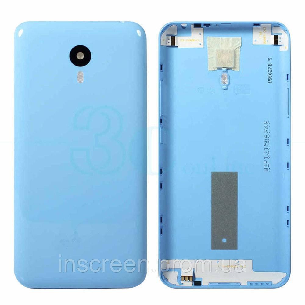 Задняя крышка Meizu M2 Note голубая