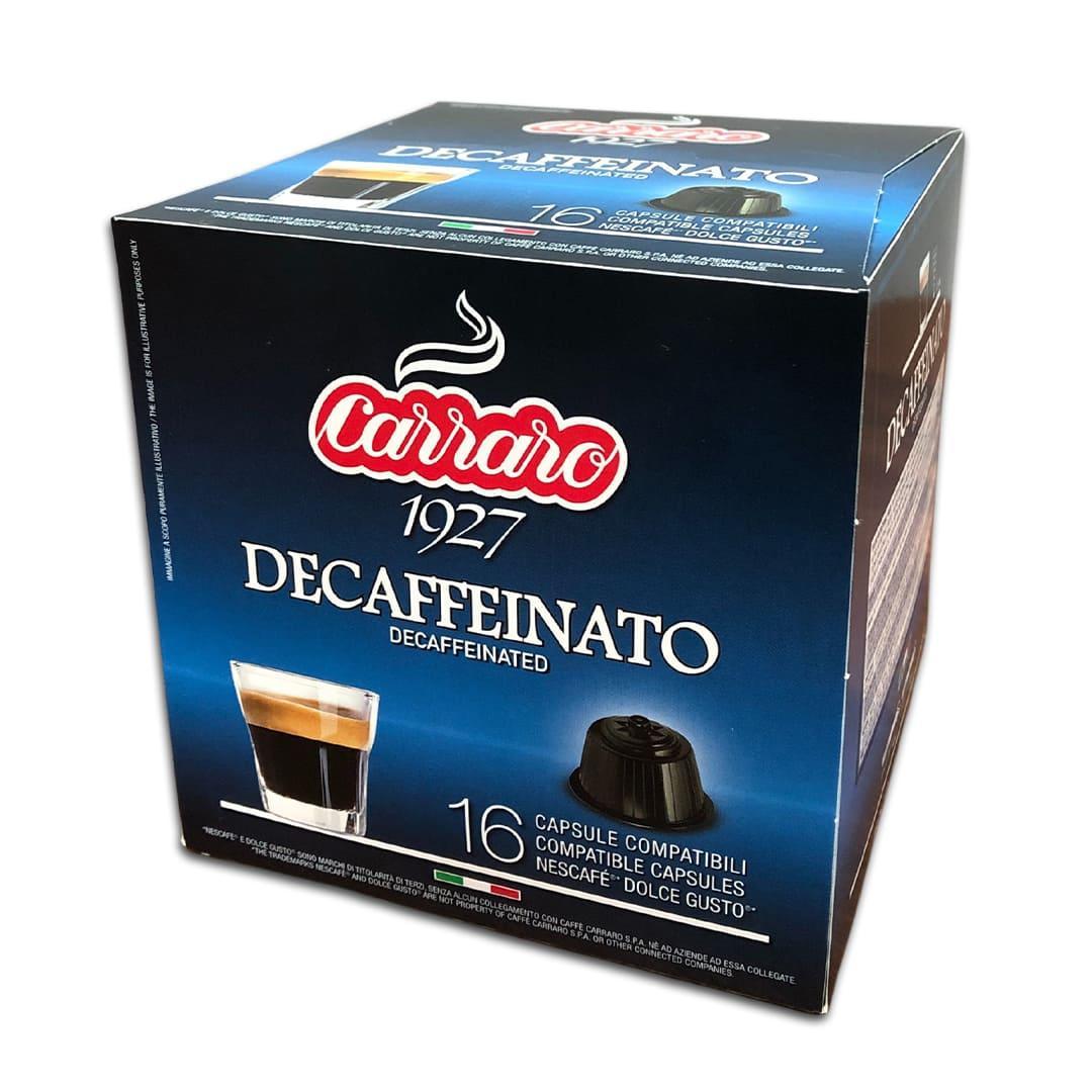 """Кофе в капсулах Carraro """"Decaffienato"""" 16 шт."""