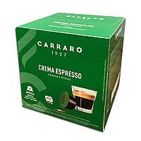 """Кава в капсулах Carraro """"Espresso Crema"""" 16 шт."""