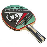 Ракетка для настольного тенниса 1 штука древесина, резина DUNLOP MT-679204 FLUX NEMESIS