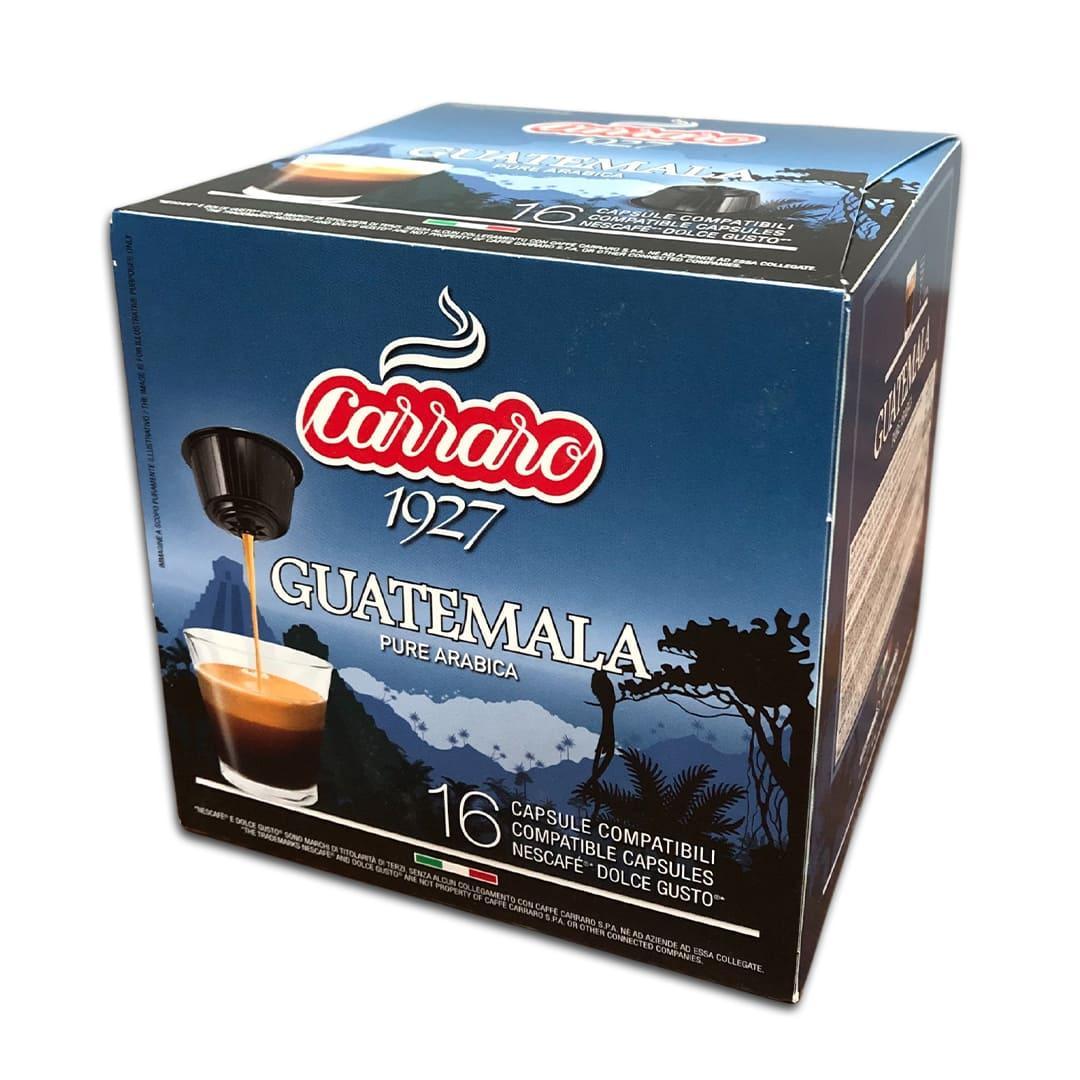 """Кава в капсулах Carraro """"Guatemala"""" 16 шт."""