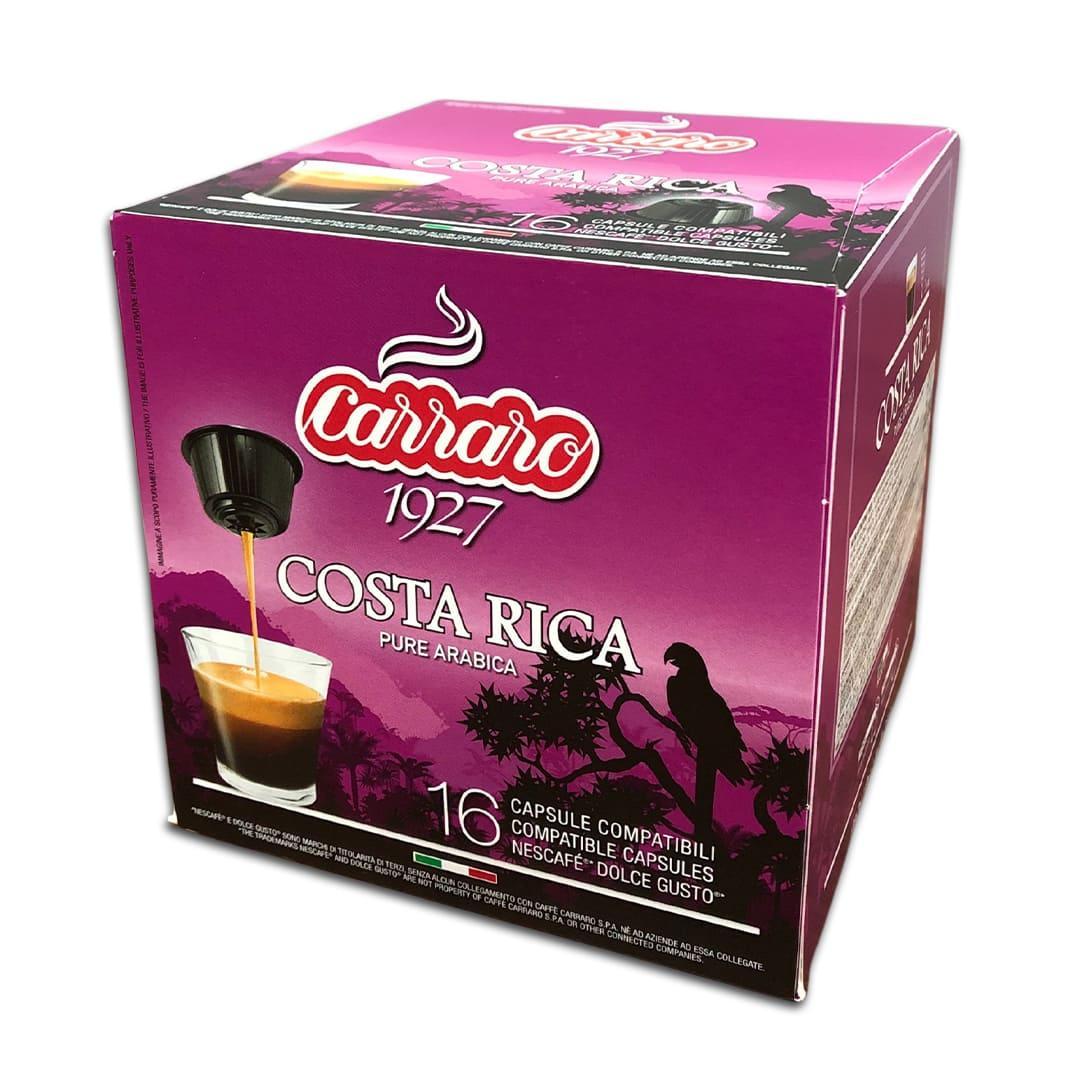 """Кава в капсулах Carraro """"Costa Rica"""" 16 шт."""