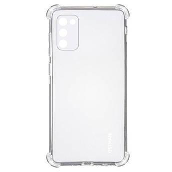 TPU чехол GETMAN Ease logo кути посилені для Samsung Galaxy A02s