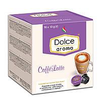 """Кофе в капсулах Dolce Aroma """"Caffe Latte"""" 16 шт."""