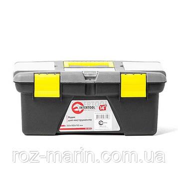 """Ящик для інструменту 14"""" 355*182*153мм INTERTOOL BX-0314"""