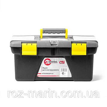 """Ящик для інструменту 18.5"""" 472*250*224мм INTERTOOL BX-0318"""