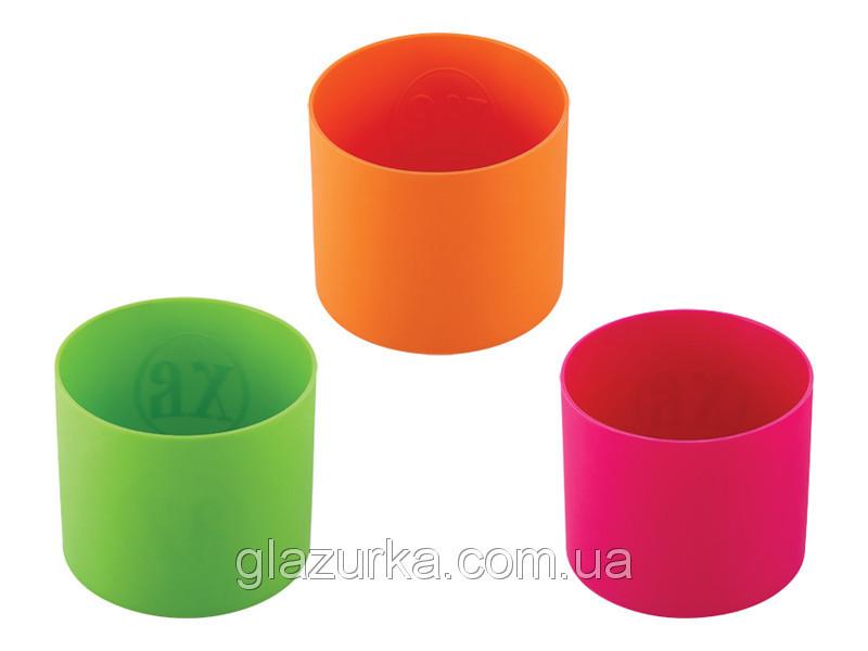 Набор форм для пасок силиконовый из 3х низкий