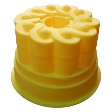 Форма силиконовая для кулича со втулкой