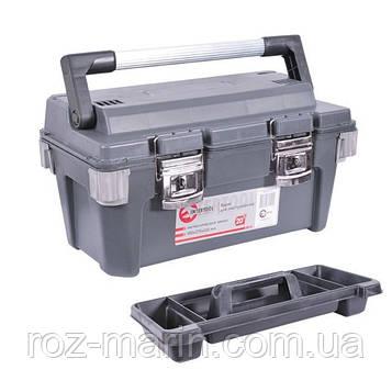 Скринька для інструментів з металевими замками INTERTOOL BX-6020