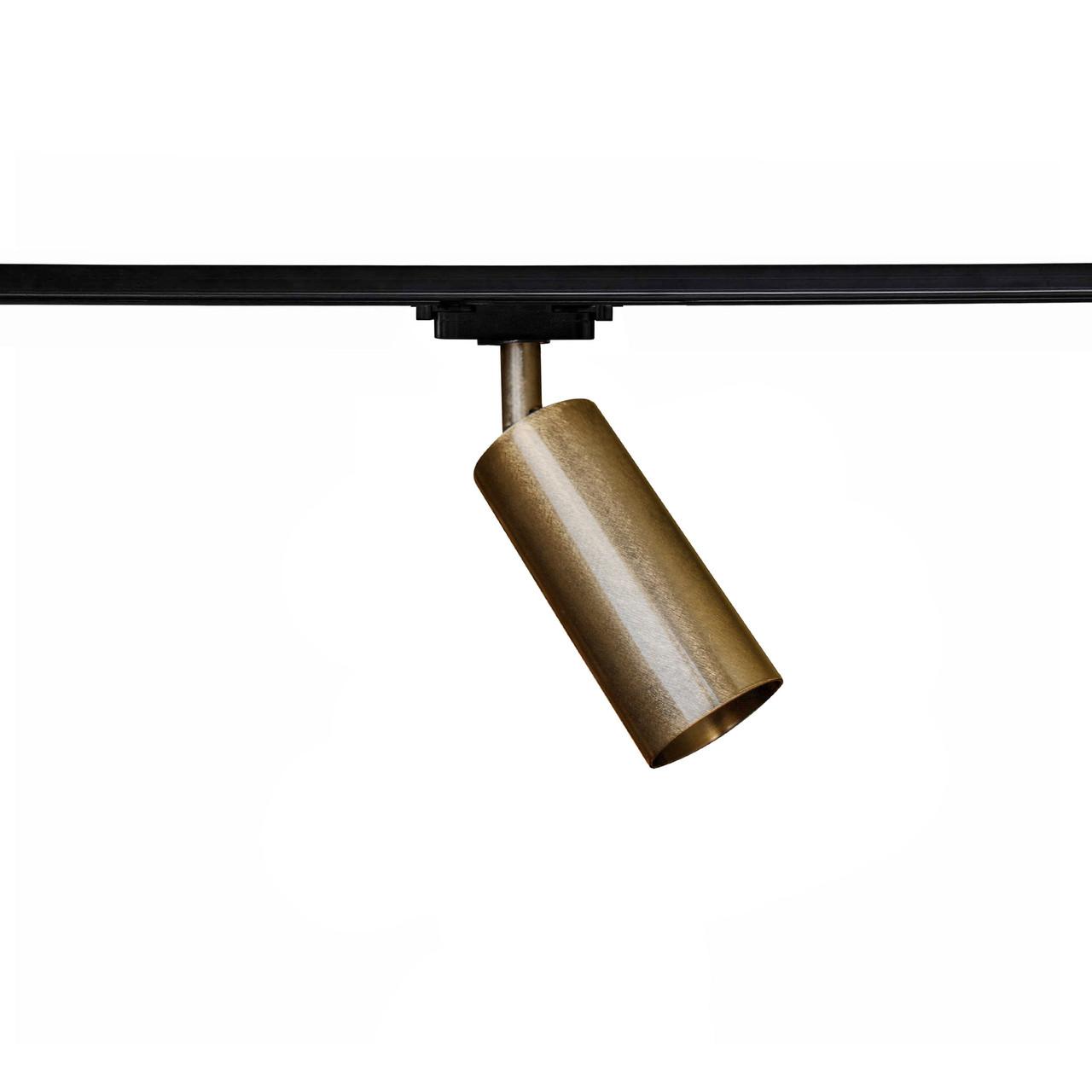 Светильник трековый под лампу Е27 MSK Electric NT 1105-1 BN бронза