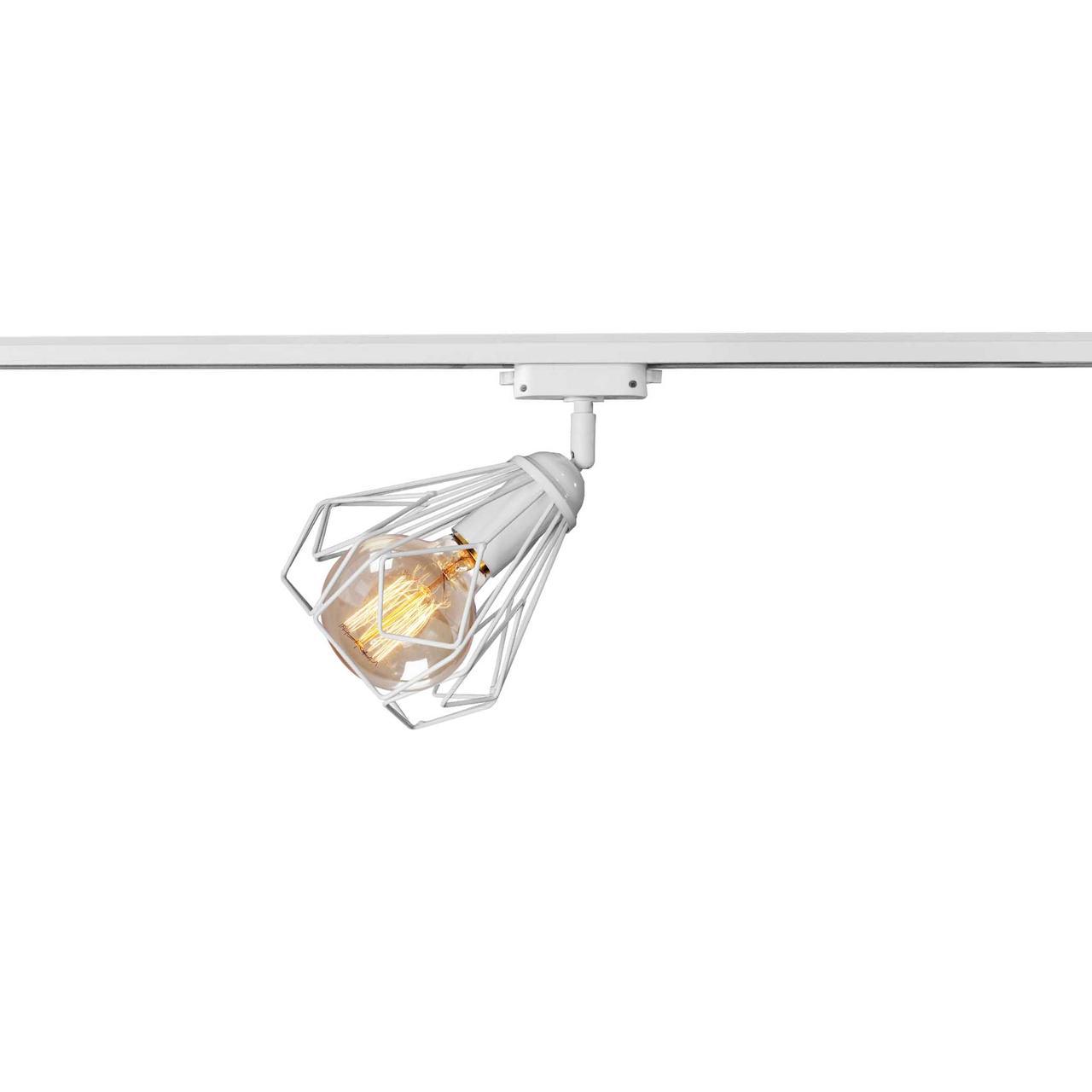 Светильник трековый под лампу Е27 MSK Electric NT 5381W белый