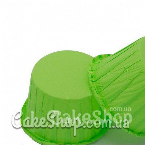 Формочки из пергамента с усиленным бортиком Зеленые, 10 шт.