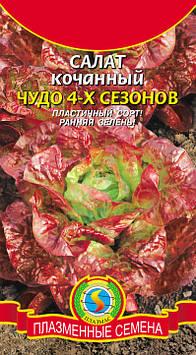 Салат Чудо 4-х сезонов 0,5 г (Плазменные семена)
