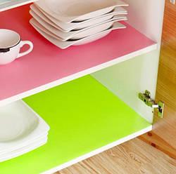 Антибактериальный коврик для холодильника и полок в рулоне (розовый)