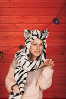 Зверошапка Белый тигр L