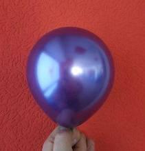 """Латексный шар хром фиолетовый 5 """"(13см) Китай"""