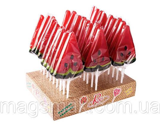 Льодяники на паличці Кавун, 35 г, фото 2
