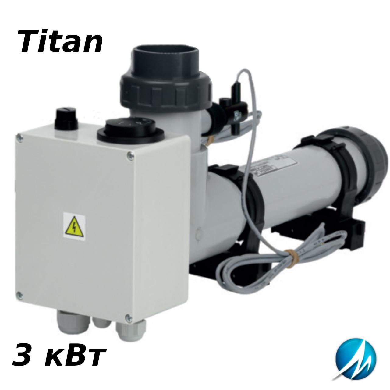 Електронагрівач EOVTI Titan (тен з титану) - 3 кВт