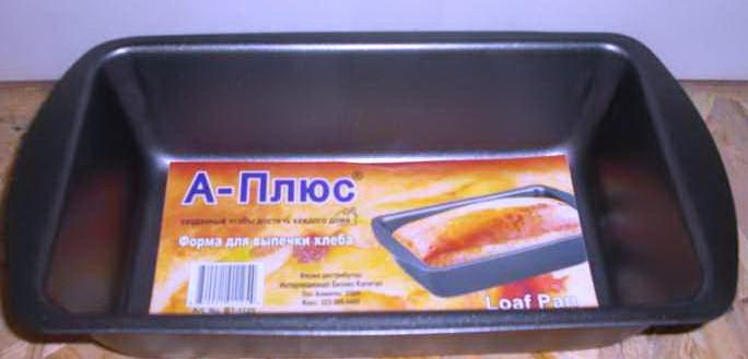 Форма для хлеба,кекса А-Плюс