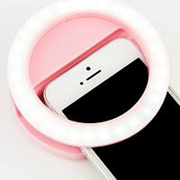 Селфи кільце на акумуляторі підсвічування Selfie Ring Light RK-14