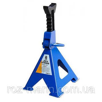 Стійка-поддомкратник 6т, min 395мм - max 605мм, T46001/42061, 2шт/компл (T46001)