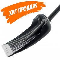 Лопата для прибирання снігу 460*340мм з ручкою 1300 мм INTERTOOL FT-2021