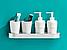 Алюмінієва полиця для ванної кімнати. Модель 3-109., фото 2
